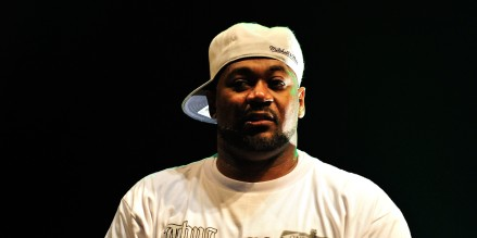LONDON, ENGLAND - JULY 26:  Ghostface Killah of the Wu Tang Clan performs on stage at the 02 Academy Brixton on July 26, 2013 in London, England.  (Photo by Matt Kent/Redferns via Getty Images)