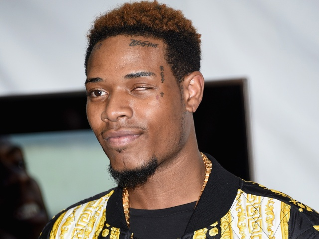 LOS ANGELES, CA - APRIL 12:  Recording artist Fetty Wap poses in the press room during The 2015 MTV Movie Awards at Nokia Theatre L.A. Live on April 12, 2015 in Los Angeles, California.  (Photo by Michael Buckner/Getty Images)
